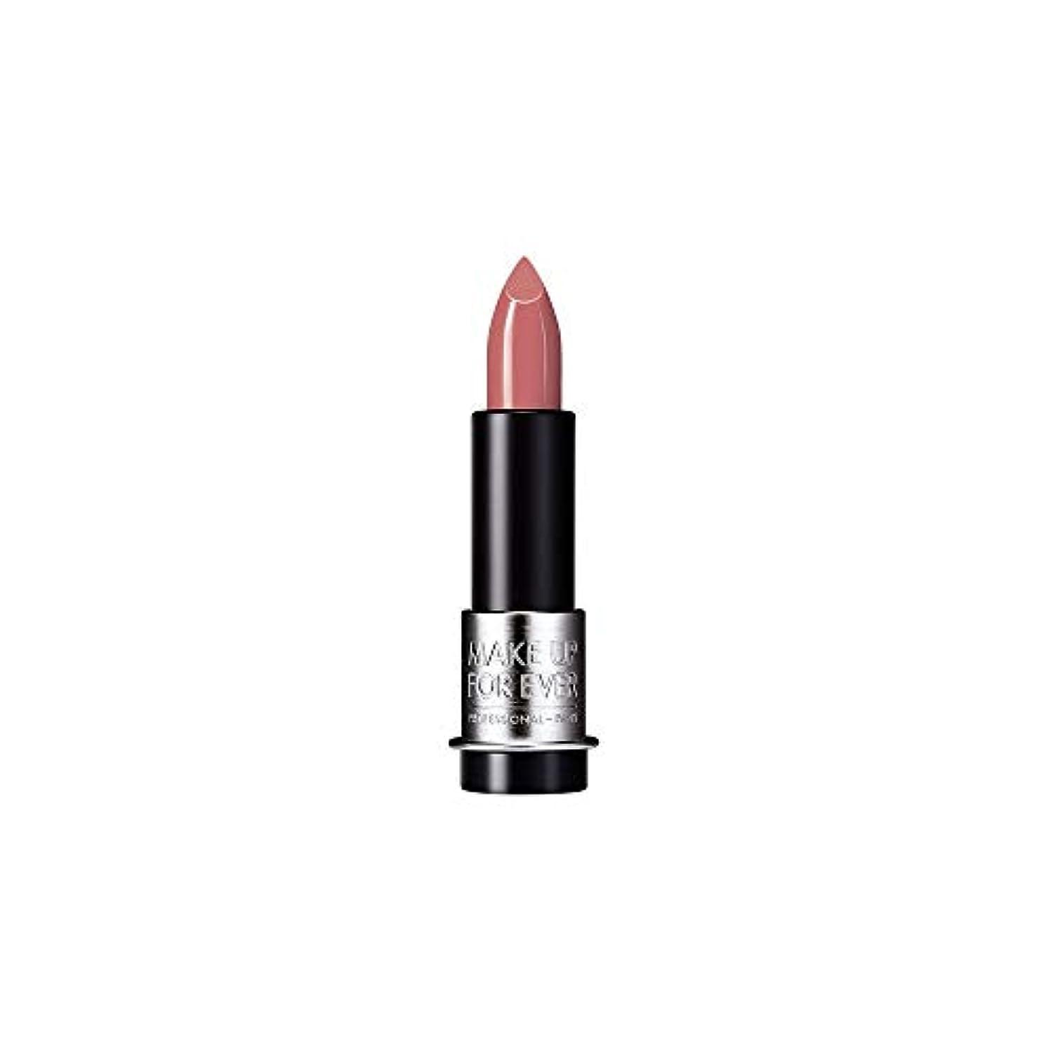 暴露賄賂抑圧者[MAKE UP FOR EVER] これまでアーティストルージュクリーム口紅3.5グラムのC211を補う - 木材をバラ - MAKE UP FOR EVER Artist Rouge Creme Lipstick 3.5g...