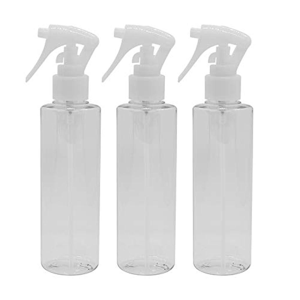 来てみなさんフルーティー日本製 スプレーボトル 200ml 3本セット ペットボトル 極細ミスト 詰め替え容器