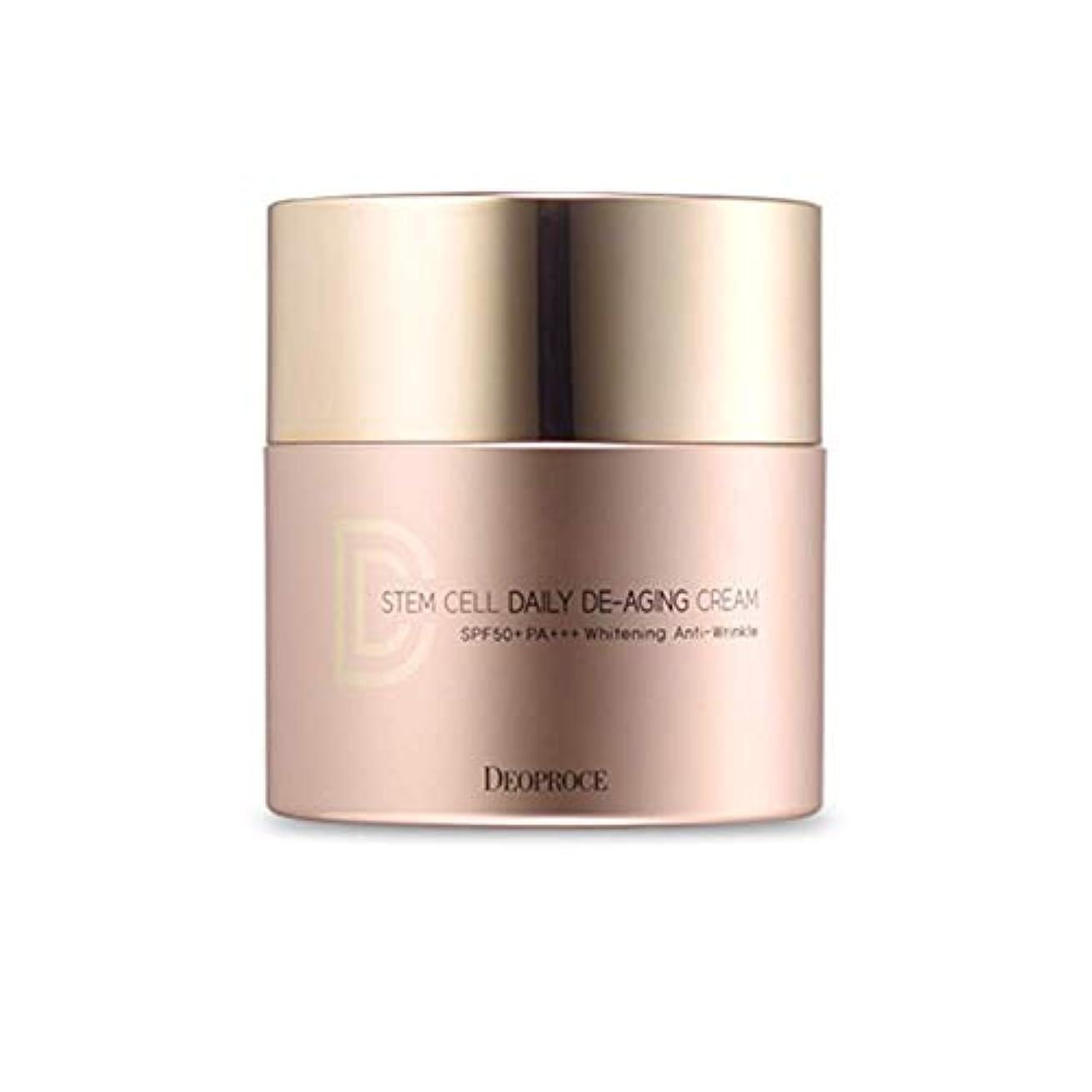 みすぼらしい指定する十分にDeoproce 韓国化粧品幹細胞デイリーエージングクリームDdクリームSPF 50 + PA +++ 21.ナチュラルベージュ [並行輸入品]