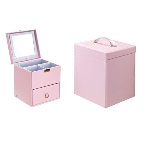 かわいいメイクボックス[シェルピンク] プチ化粧台...