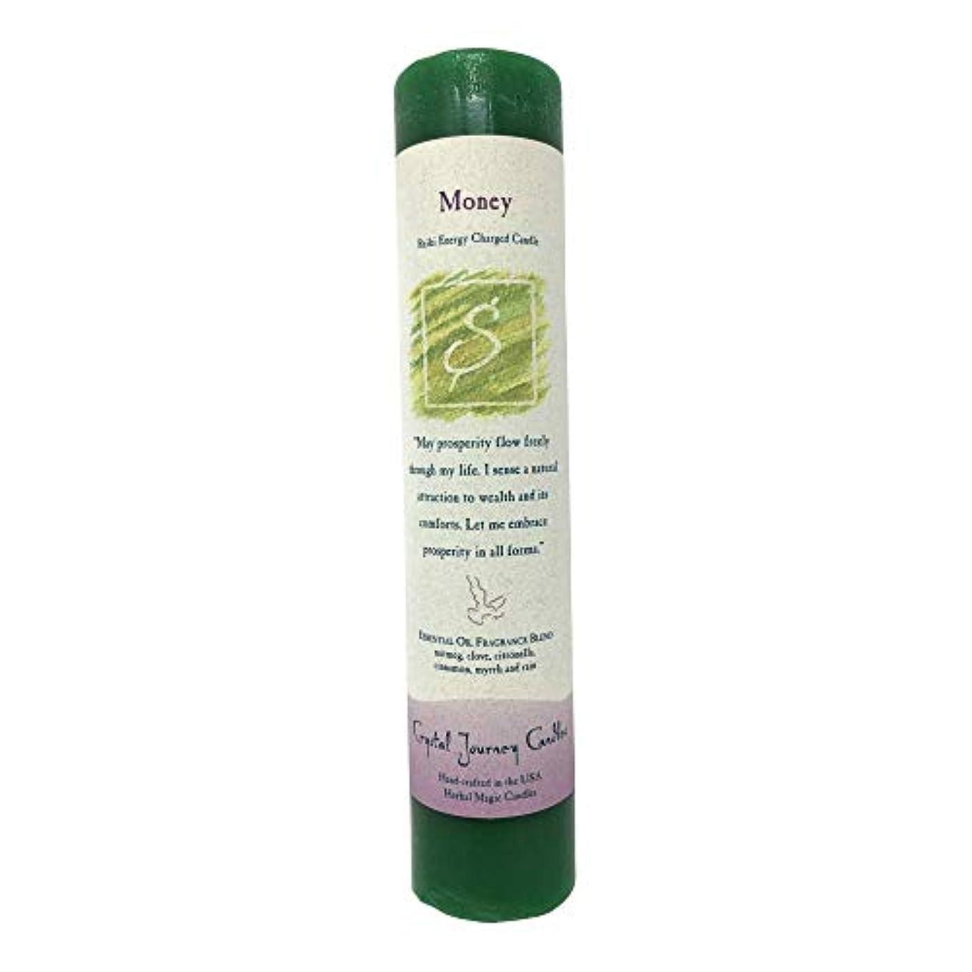 メロドラマティック一般的にフラッシュのように素早くMoney - Herbal Magic Pillar by Ritual Magick