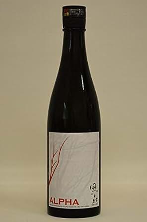 油長酒造 風の森 純米「ALFAアルファ」無濾過生原酒720ml平成29年度醸造新酒
