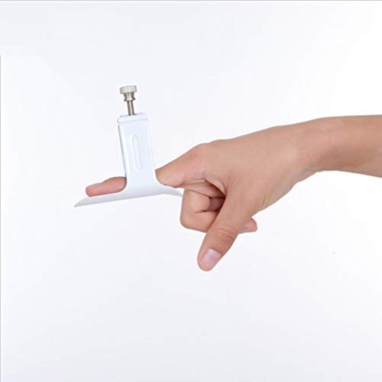 押し下げる暗くする喪指の延長副木、手指の傷害のホールダーの副木矯正器指の拡張指の固定固定されたリハビリテーションの苦痛救助用具の援助