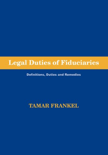 Download Legal Duties of Fiduciaries 1888215208
