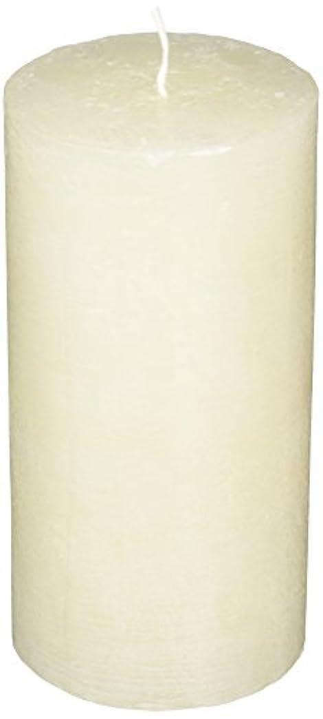 誠意支払い広げるラスティクピラー3×6 「 シルキーホワイト 」 キャンドル A4890020SWH