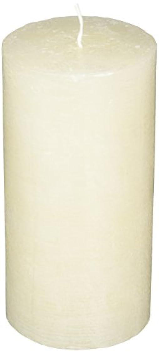 死傷者ノーブル観察するラスティクピラー3×6 「 シルキーホワイト 」 キャンドル A4890020SWH