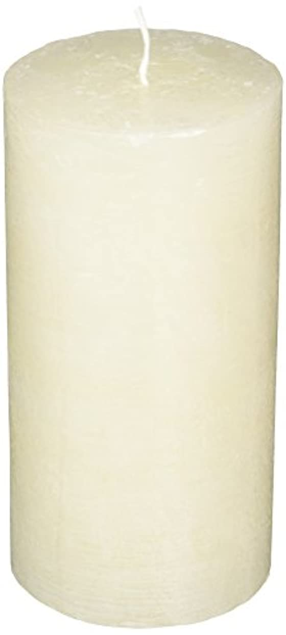 発生器フォアマン非行ラスティクピラー3×6 「 シルキーホワイト 」 キャンドル A4890020SWH