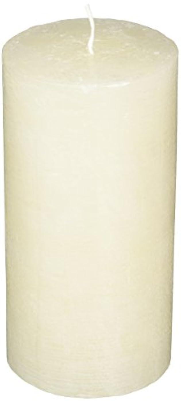 ミシン目硬い器用ラスティクピラー3×6 「 シルキーホワイト 」 キャンドル A4890020SWH