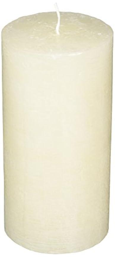 ラスティクピラー3×6 「 シルキーホワイト 」 キャンドル A4890020SWH