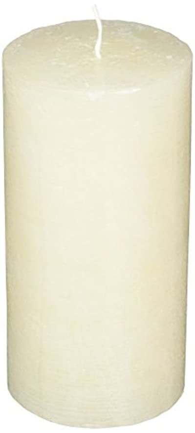 コインランドリー右積極的にラスティクピラー3×6 「 シルキーホワイト 」 キャンドル A4890020SWH