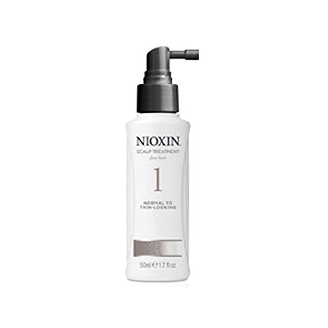 費用退院中世のNioxin System 1 Scalp Treatment For Normal To Fine Natural Hair (100ml) - 細かい自然な髪への通常のためニオキシンシステム1スカルプトリートメント(...