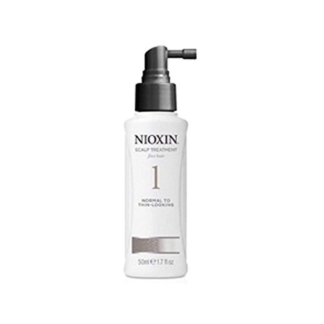 バルセロナ六分儀知覚Nioxin System 1 Scalp Treatment For Normal To Fine Natural Hair (100ml) - 細かい自然な髪への通常のためニオキシンシステム1スカルプトリートメント(...