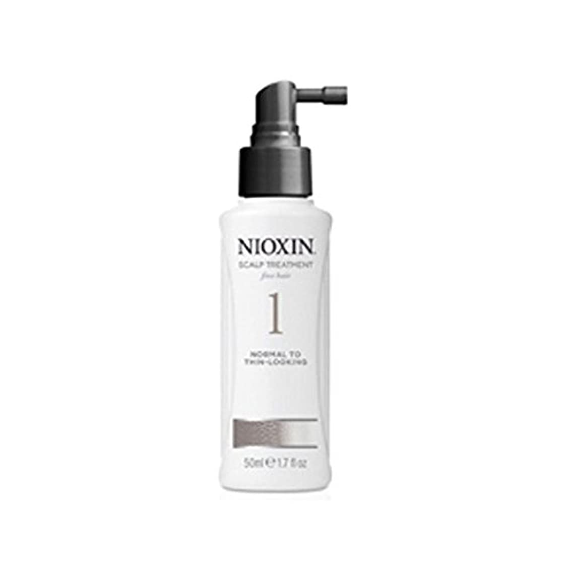 Nioxin System 1 Scalp Treatment For Normal To Fine Natural Hair (100ml) - 細かい自然な髪への通常のためニオキシンシステム1スカルプトリートメント(...