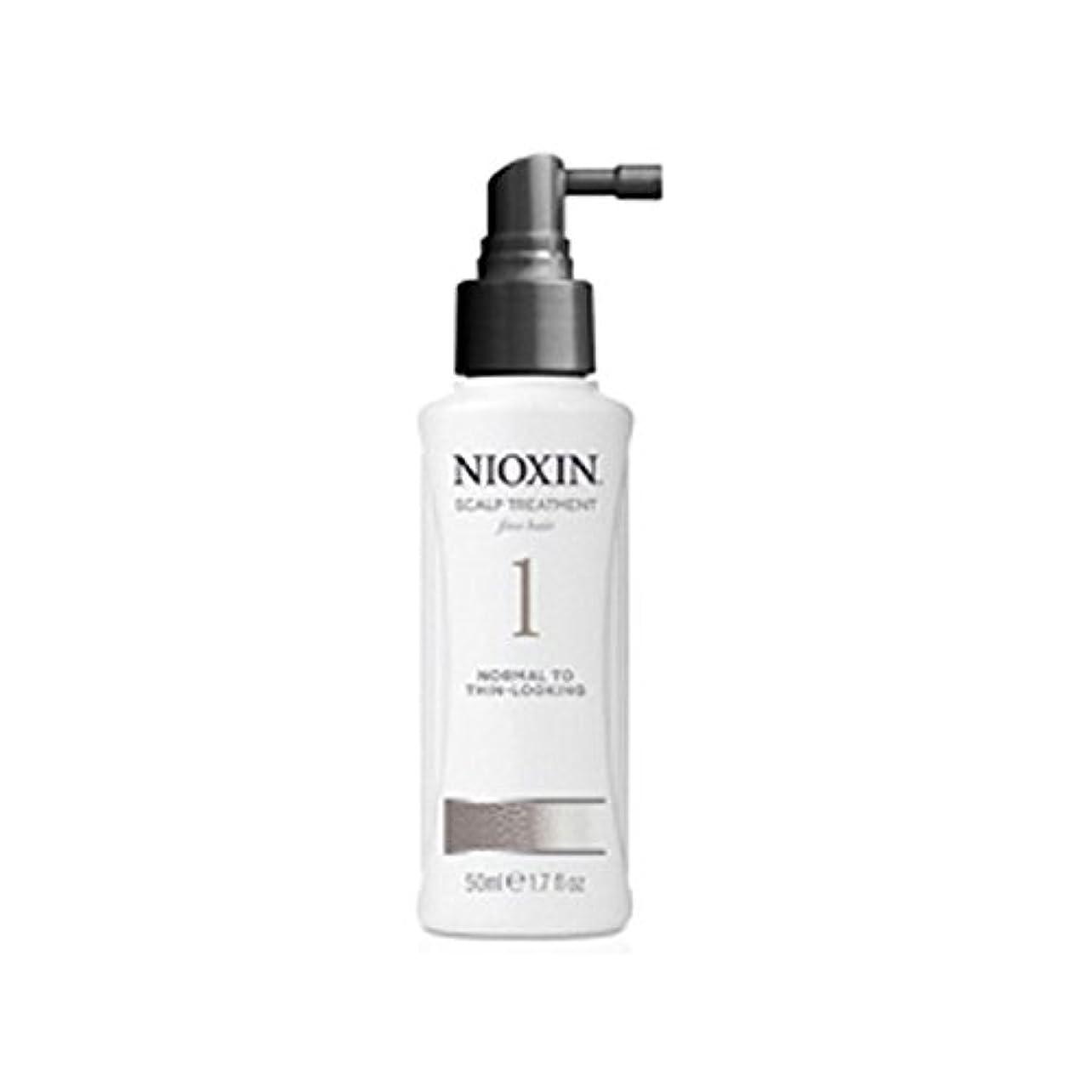 ジュースどういたしまして実り多いNioxin System 1 Scalp Treatment For Normal To Fine Natural Hair (100ml) - 細かい自然な髪への通常のためニオキシンシステム1スカルプトリートメント(...