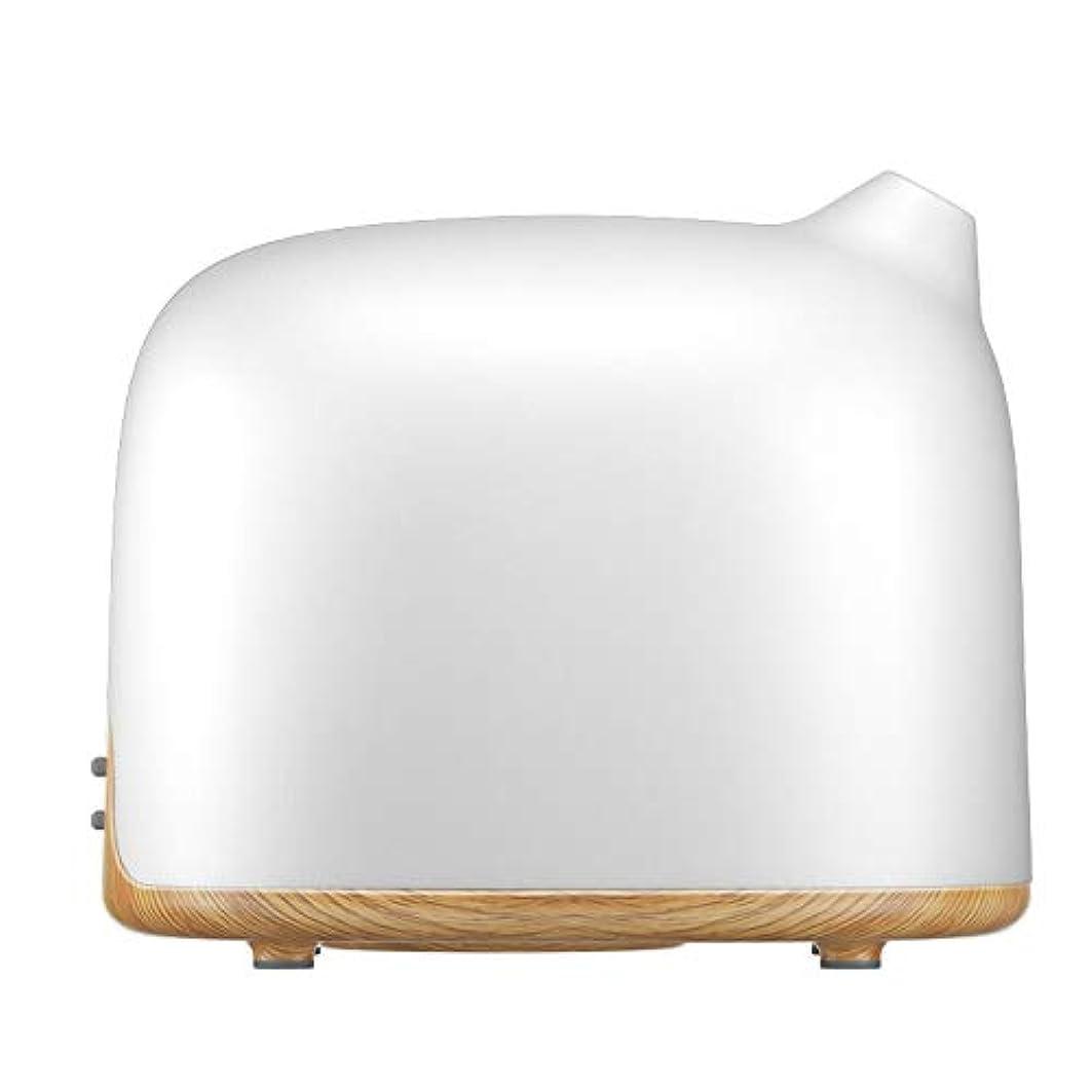 自分を引き上げる変換ショップスマートWi-Fiエッセンシャルオイルディフューザー500 mlアロマセラピー加湿器寝室とオフィスでリラックスした雰囲気のためより良い睡眠&呼吸,Lightwoodgrain,EUplug