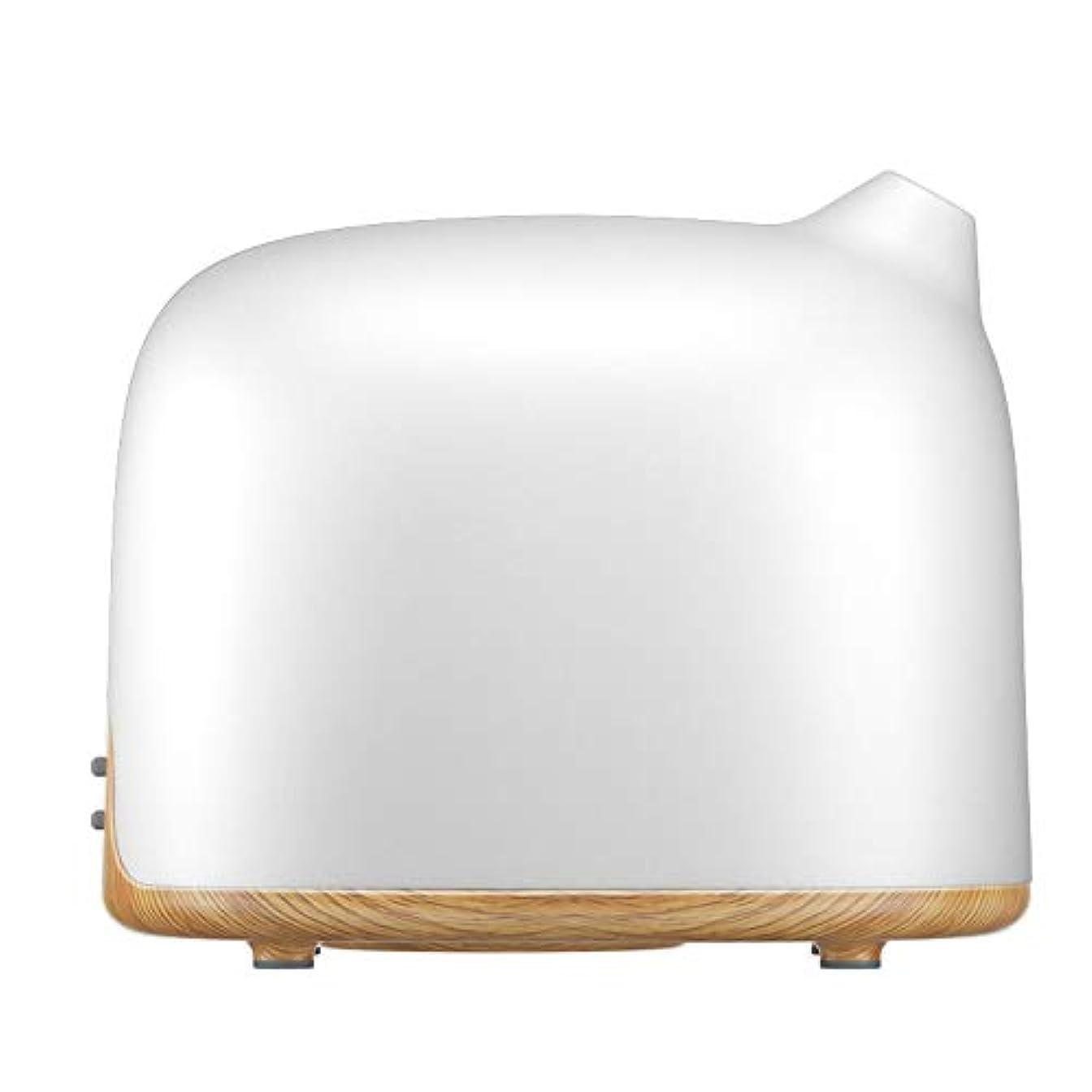 禁じる称賛相手スマートWi-Fiエッセンシャルオイルディフューザー500 mlアロマセラピー加湿器寝室とオフィスでリラックスした雰囲気のためより良い睡眠&呼吸,Lightwoodgrain,EUplug