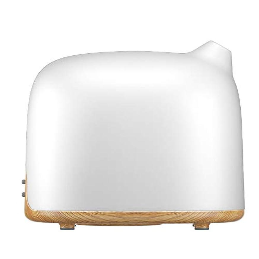 上がる気まぐれな崩壊スマートWi-Fiエッセンシャルオイルディフューザー500 mlアロマセラピー加湿器寝室とオフィスでリラックスした雰囲気のためより良い睡眠&呼吸,Lightwoodgrain,EUplug