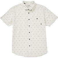 BILLABONG Big Boys' All Day Jacquard Short Sleeve Woven Shirt