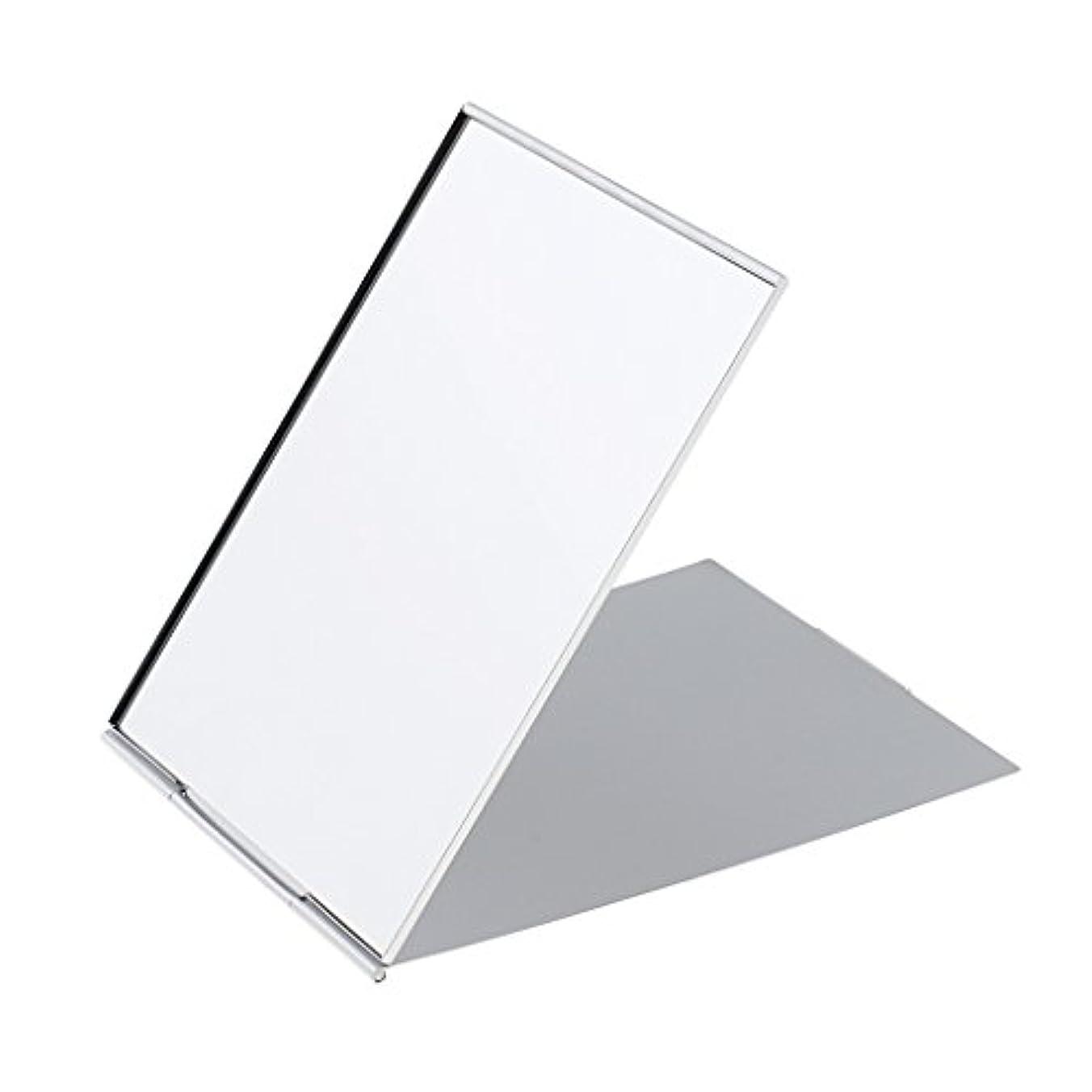 密輸であるリングレットメイクミラー 軽量 折りたたみ ポケット コンパクトミラー トラベル 化粧鏡 全3サイズ - #1