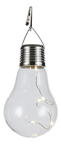 RoomClip商品情報 - エイチツーオー 電球型LEDソーラーライト H9558