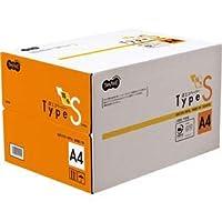 TANOSEE αエコペーパー タイプSA4 1箱(5000枚:500枚×10冊) 〈簡易梱包
