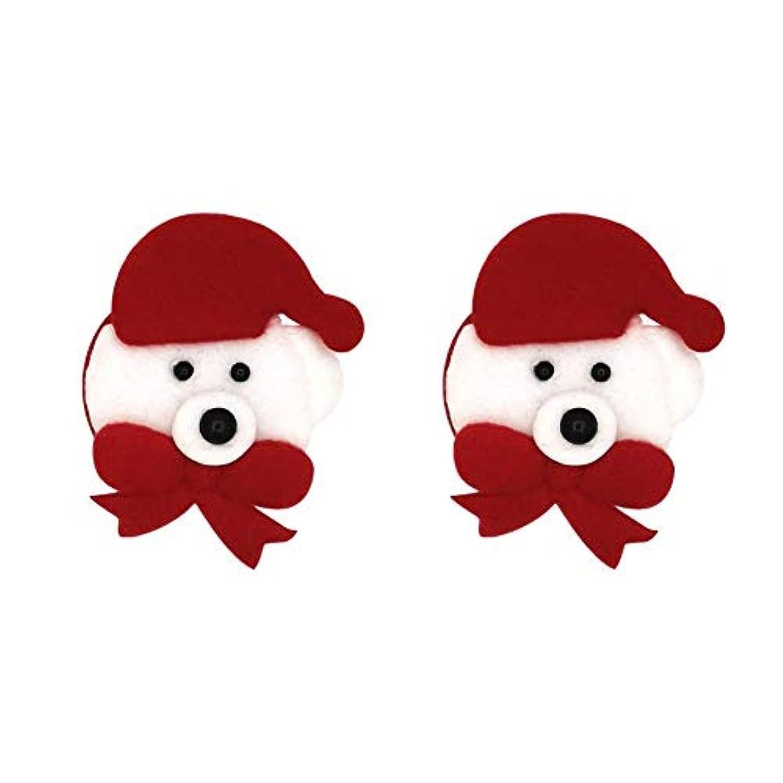 クスクス活発めるlibeauty 2ペア女性目に見えない乳首カバーテープクリスマスツリー雪だるまパターンブラテープシリコーン再利用可能な形状エルク、クリスマスツリー、靴下、雪だるま excitement