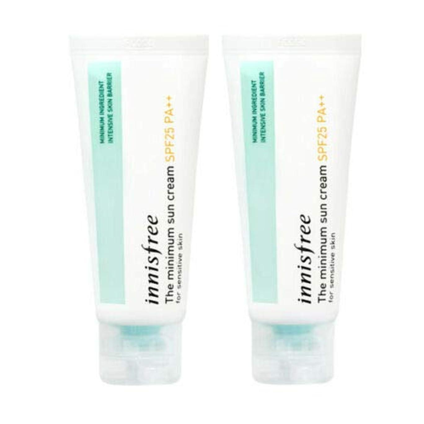 染色入場料ペダル[1+1] Innisfree イニスフリー ザ·ミニマムサンクリーム 40ml SPF25/PA++ The Minimum Sun Cream