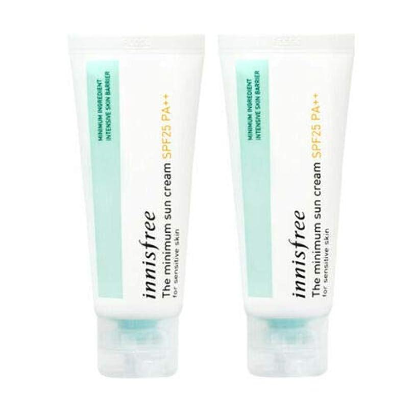 心から削除する作り上げる[1+1] Innisfree イニスフリー ザ·ミニマムサンクリーム 40ml SPF25/PA++ The Minimum Sun Cream