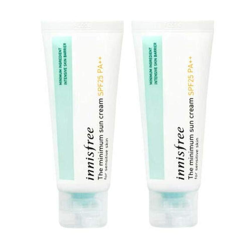 強要遠え挑発する[1+1] Innisfree イニスフリー ザ·ミニマムサンクリーム 40ml SPF25/PA++ The Minimum Sun Cream