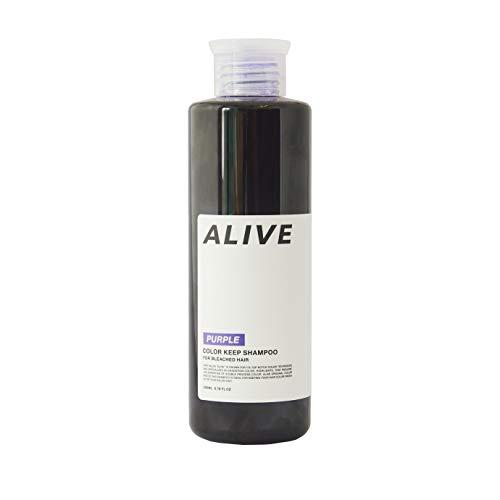 ALIVE アライブ カラーシャンプー 極濃 紫シャンプー