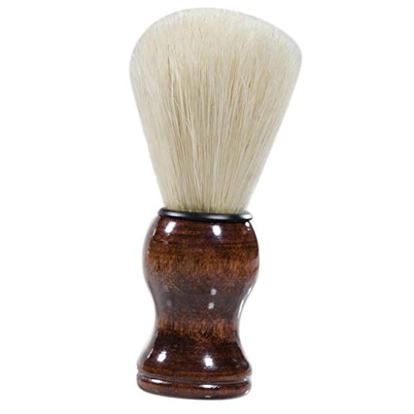 コンパス孤独残るHellery ひげブラシ シェービングブラシ 髭剃りブラシ 理容 洗顔 髭剃り 泡立ち 父 プレゼント