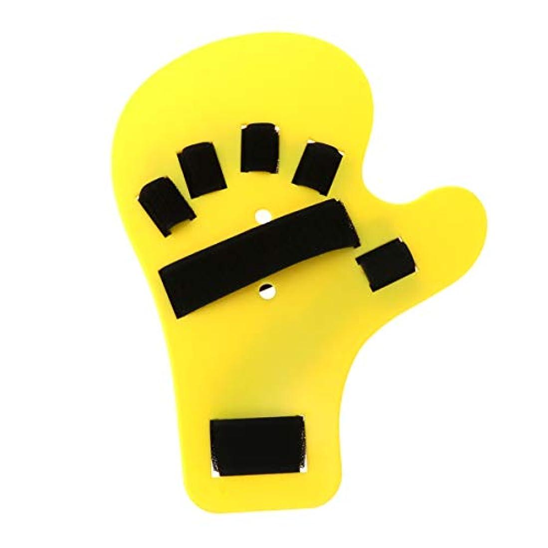 ぶら下がる神話性能SUPVOX 指装具指板ストロークハンドスプリントトレーニングサポートハンド手首トレーニング右手用装具デバイス