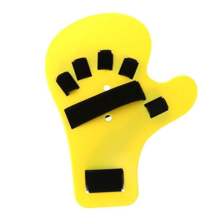 覗くピット誤解SUPVOX 指装具指板ストロークハンドスプリントトレーニングサポートハンド手首トレーニング右手用装具デバイス