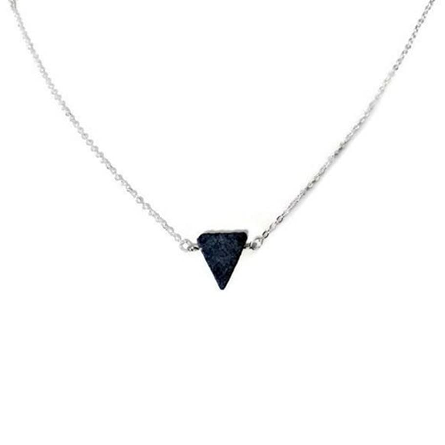 韻ためらう掃くEssential Oil Diffuser Necklace Lava stone jewelry [並行輸入品]