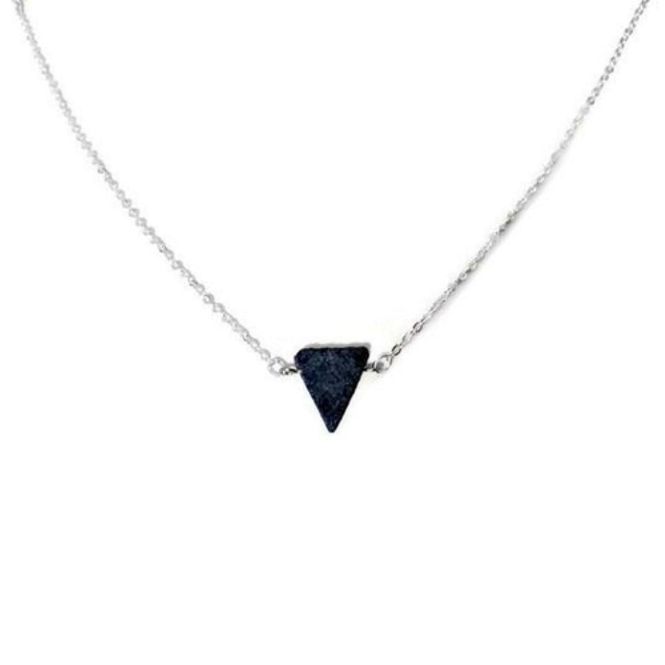 バングラデシュ早熟グリップEssential Oil Diffuser Necklace Lava stone jewelry [並行輸入品]