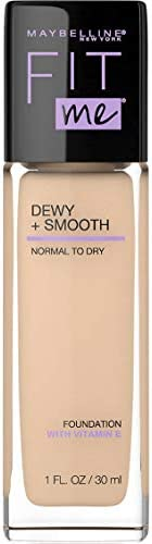 Maybelline Fit Me Dewy & Smooth Luminous Liquid Foundation - Classic Ivory