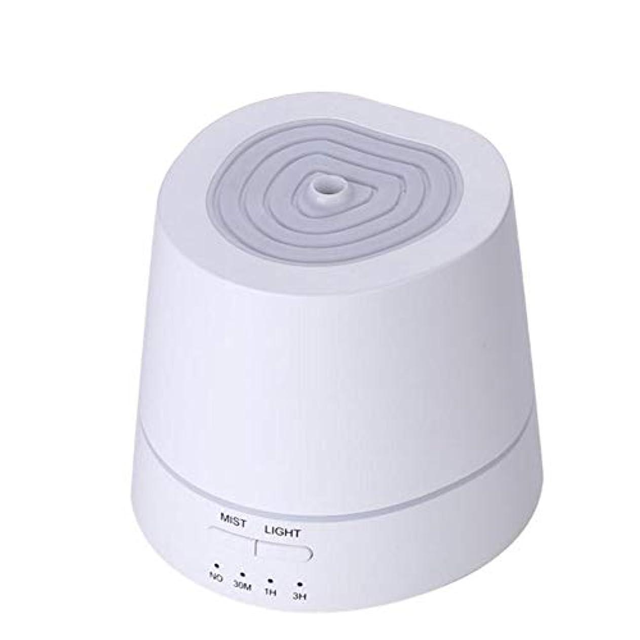 心配リーダーシップスワップアロマディフューザー 卓上加湿器 超音波式 150ml 小容量 USB充電式 7色LEDライト付き 間接照明 時間設定機能 部屋、会社、ヨガなど場所適用 Styleshow