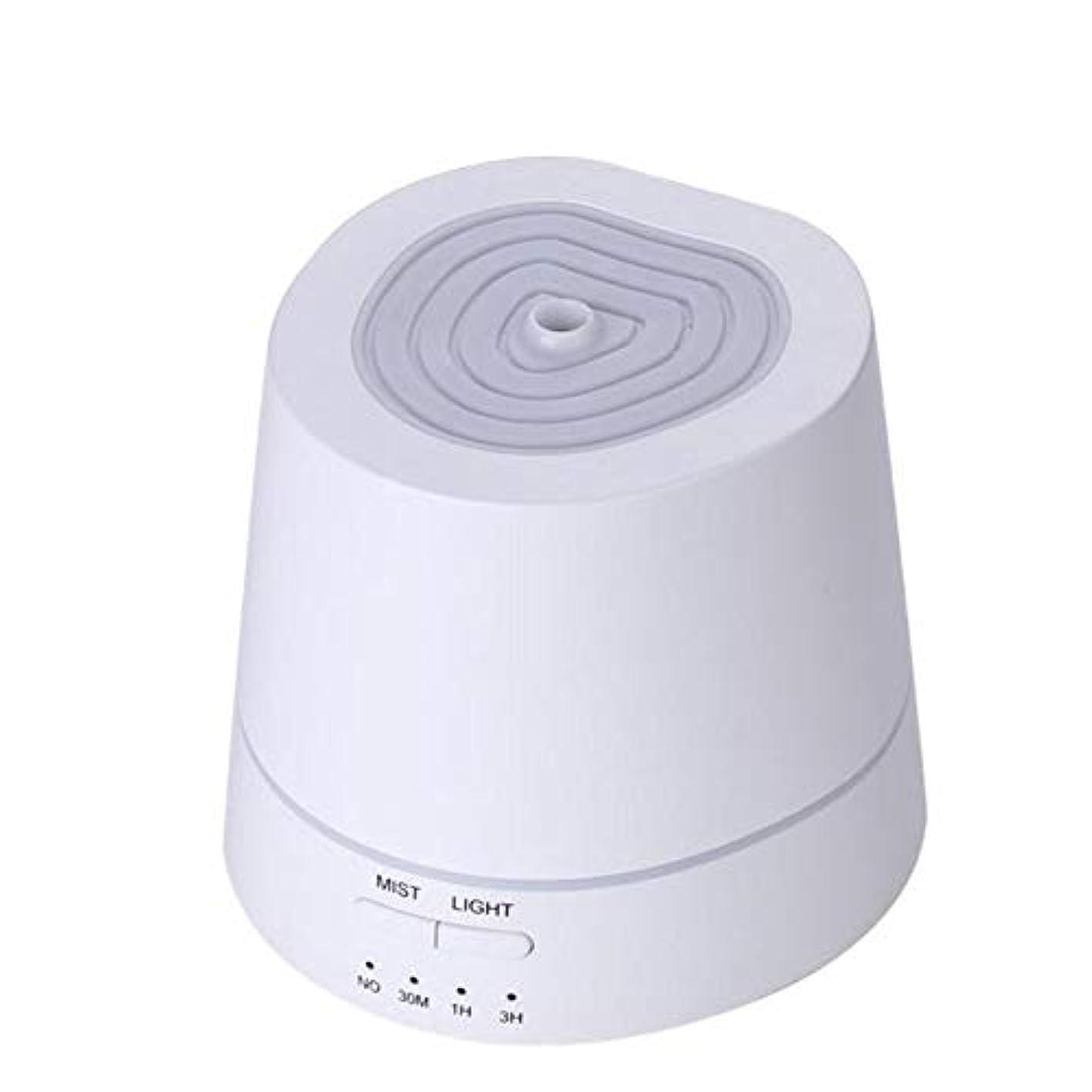 交換出血に渡ってアロマディフューザー 卓上加湿器 超音波式 150ml 小容量 USB充電式 7色LEDライト付き 間接照明 時間設定機能 部屋、会社、ヨガなど場所適用 Styleshow