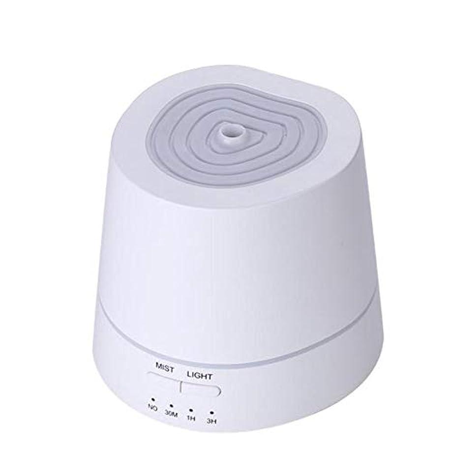 騒乱パイ一次アロマディフューザー 卓上加湿器 超音波式 150ml 小容量 USB充電式 7色LEDライト付き 間接照明 時間設定機能 部屋、会社、ヨガなど場所適用 Styleshow