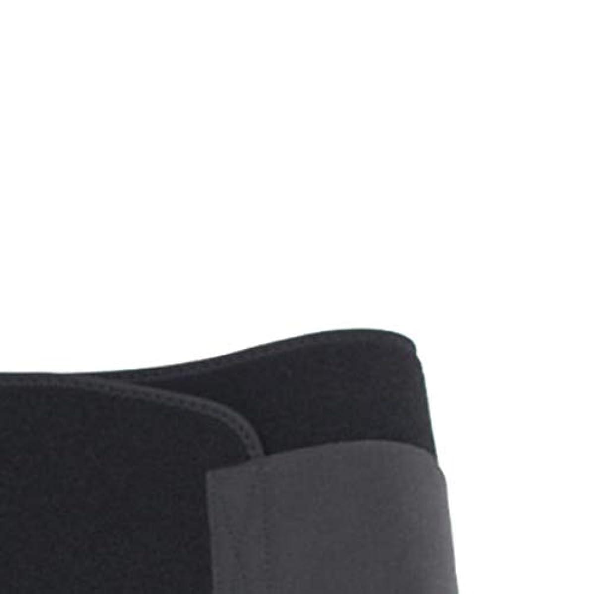 ペルー間に合わせ出力男性女性ウエストおなかスポーツボディシェイパーバンドベルトラップファットバーンスリミングエクササイズ用品ボディシェイピング(黒)