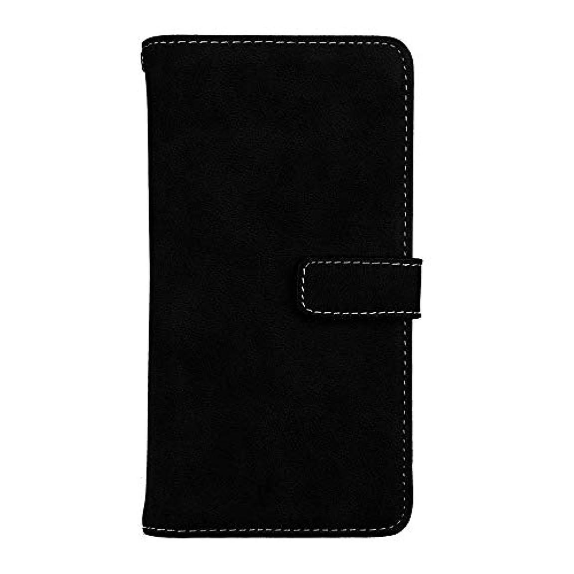 シロクマパターン他のバンドでXiaomi Redmi Note 5 高品質 マグネット ケース, CUNUS 携帯電話 ケース 軽量 柔軟 高品質 耐摩擦 カード収納 カバー Xiaomi Redmi Note 5 用, ブラック