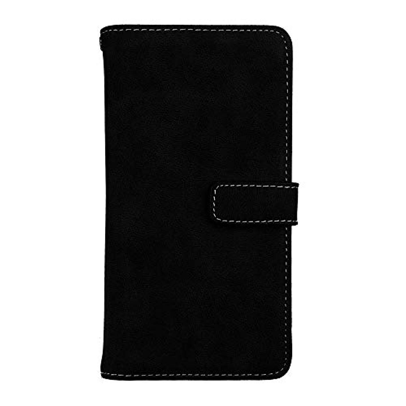 ホールド定刻ふけるXiaomi Redmi Note 5 高品質 マグネット ケース, CUNUS 携帯電話 ケース 軽量 柔軟 高品質 耐摩擦 カード収納 カバー Xiaomi Redmi Note 5 用, ブラック