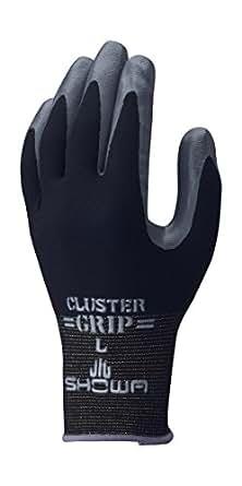 ショーワグローブ No.371組立グリップクラスター ブラック Sサイズ 1双
