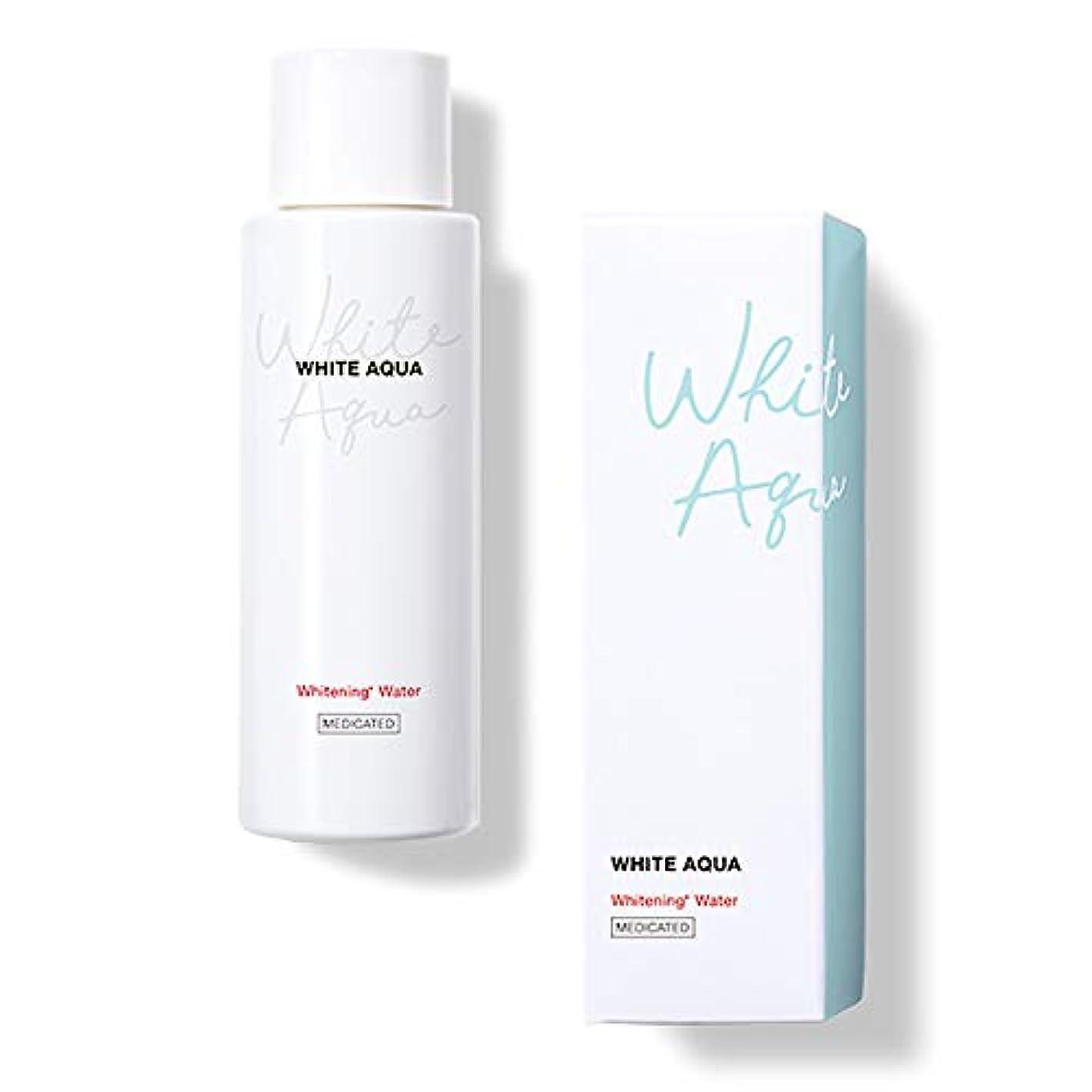 バーター粘り強いクレーターホワイトアクア WHITE AQUA 薬用美白水