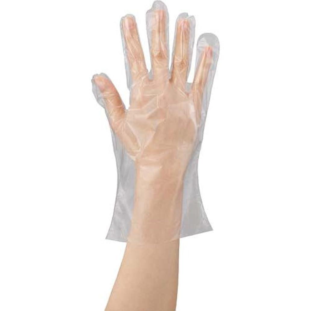 冗長収縮シュリンク川西工業 ポリエチレン手袋 カタエンボス M 100枚×20