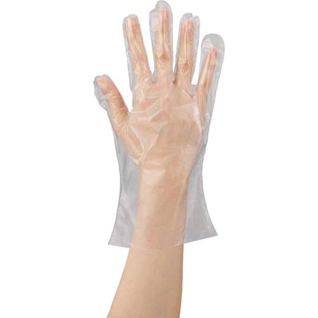 ゾーンエキサイティング服を着る川西工業 ポリエチレン手袋 カタエンボス M 100枚×20