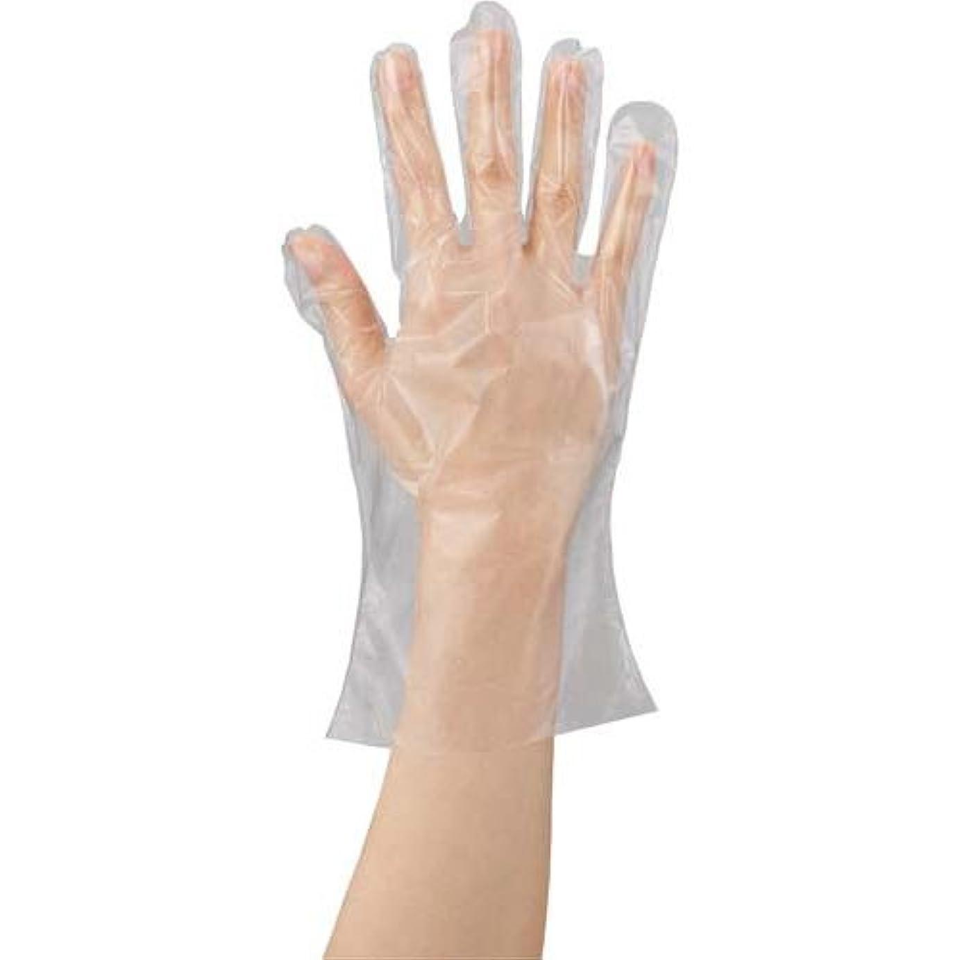 川西工業 ポリエチレン手袋 カタエンボス M 100枚×20