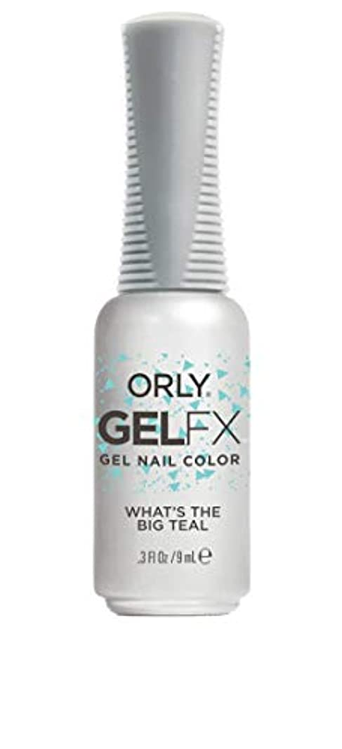 検索受け入れる貝殻ORLY Gel FX - Euphoria 2019 Collection - What's the Big Teal - 0.3 oz / 9 mL