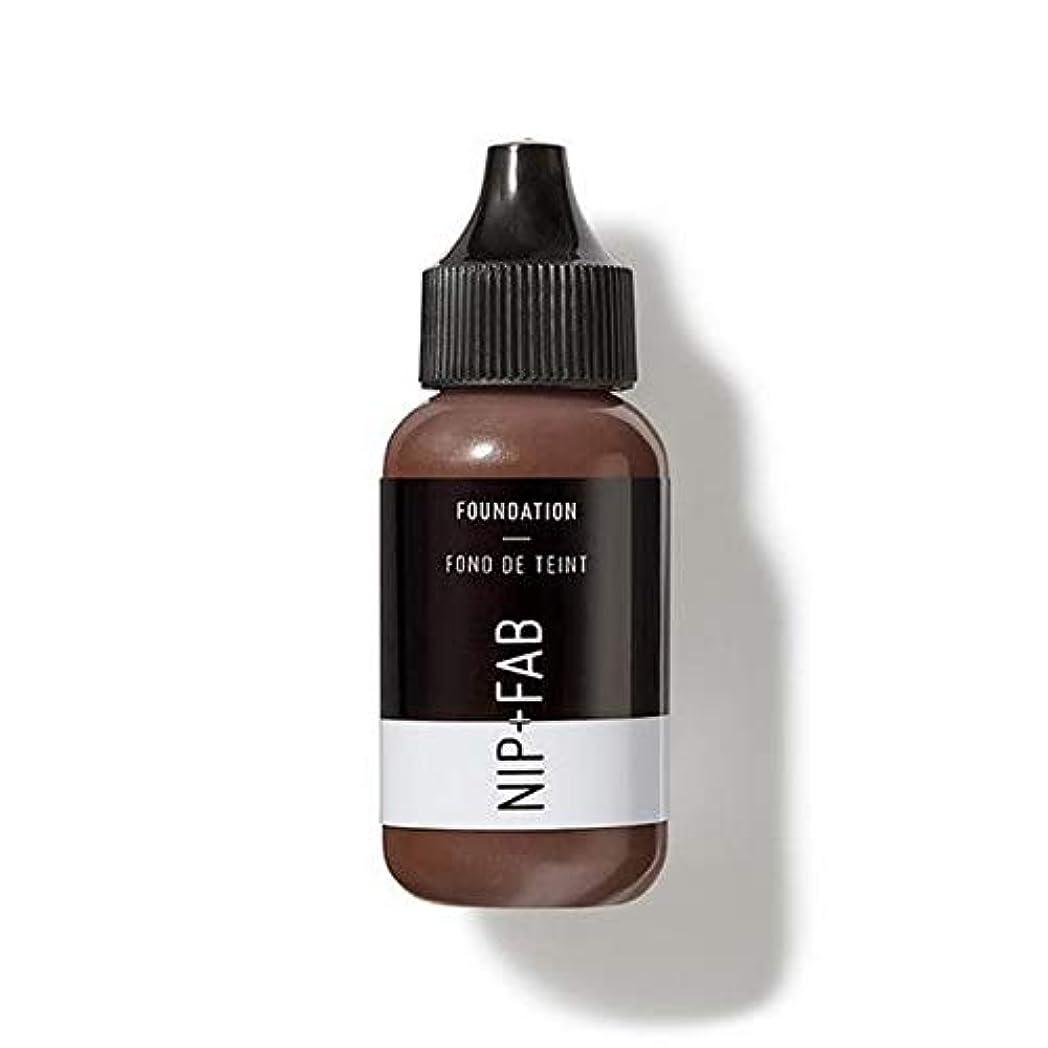 経歴疫病コンテンツ[Nip & Fab ] 基礎30ミリリットル暗いミキサーを作るFab +ニップ - NIP+FAB Make Up Foundation 30ml Dark Mixer [並行輸入品]