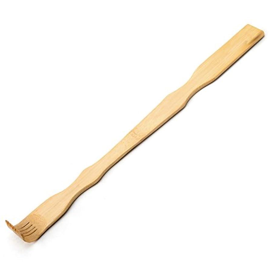 惑星ベンチ構成するTungSam 竹製孫の手一本 背中かゆみを止め マッサージ用